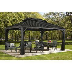 Sojag Messina Galvanized-Steel-Roof Sun Shelter