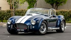 """Cobra Experience Museum Announces Sweepstakes to Win a Shelby Cobra 427 Featured in the Blockbuster Film """"Ford v Ferrari"""" Shelby Cobra Replica, Ford Shelby Cobra, Mustang Cobra, Ford Mustang, Shelby Gt500, Ac Cobra 427, Roadster, Best Muscle Cars, Ford Classic Cars"""