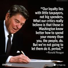 Ronald Reagan. #quote