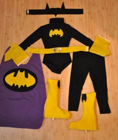 Batgirl costume just in case.