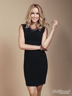 Anna Camp | black dress