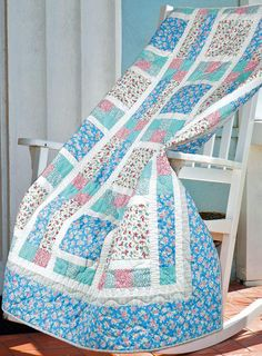 """Sweetie Pie"" by Michele Crawford (from The Quilter Magazine August/September 2013 issue)"
