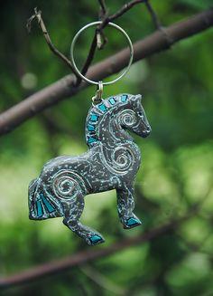 Horse trinket for key