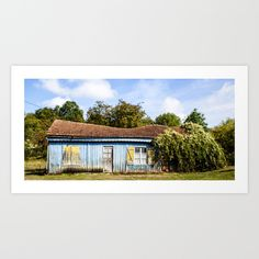 Vintage barn in France