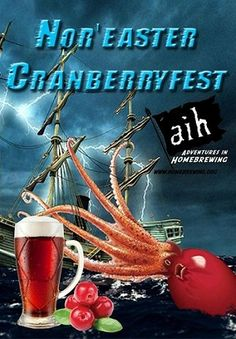 Homebrew Finds: AIH: Nor'easter Cranberryfest Extract Kit - $29.99
