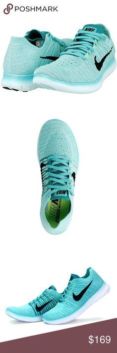 NIKE 880844 001 : Women's Free RN Flyknit Running Shoe (7.5 B(M) US)