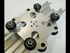 OpenBuilds C-Beam Machine Aluminum Cut Example - YouTube