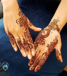 Indian bridal henna mehndi mehendi best Ideas There are different rumors about the annals of the marriage dress; Indian Henna Designs, Bridal Henna Designs, Unique Mehndi Designs, Henna Designs Easy, Beautiful Mehndi Design, Mehndi Designs For Hands, Henna Tattoo Designs, Finger Henna Designs, Henna Tattoo Hand