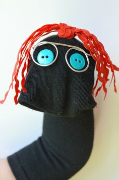 Make this fun sock puppet in just 10 minutes!