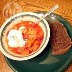 Recipe photo: Russian Cabbage Borscht