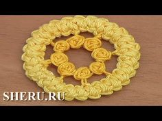Румынское кружево Урок 80 Romanian Point Circle Lace Pattern - YouTube                                                                                                                                                                                 More
