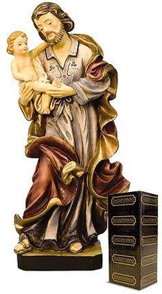 "Amazon.com: 12"" St. Joseph and Baby Child Jesus Statue: Everything Else"