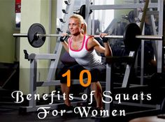 benefits of-squats for women