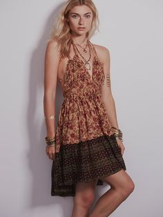 Free People Floaty Gauze Dress Size: S Color: Black Combo (not pictured) $128.00