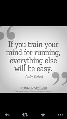 no truer words. #Run