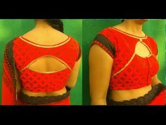 Super special blouse cutting and stitching Blouse Back Neck Designs, Sari Blouse Designs, Blouse Tutorial, Kurta Neck Design, Kurti Designs Party Wear, Blouse Models, Dress Sewing Patterns, Stitching, Anarkali Gown