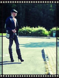 Guy in boots..awesome!