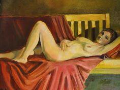 Laura Tovar Dietrick Paintings: Thursday Night Figure Drawing