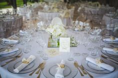 Tavola pronta, #allestimenti per #matrimoni, sala da #pranzo.  #wedding #nozze
