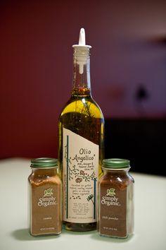 herbed olive oil, cumin, chili powder. #paleo, #food, #glutenfree, #recipes