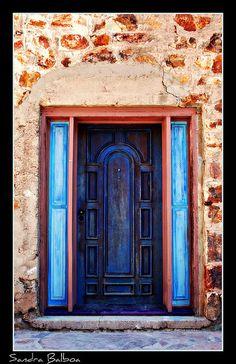 blues and browns, ~ Bisbee, Arizona.