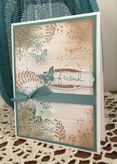 Awesomely Artistic - Stampin Up. Created by Wendy at Perfectly Gorgeous Papercraft