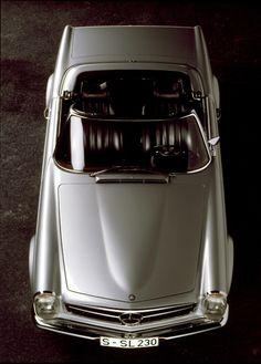1963 Mercedes-Benz 230 SL #mb #mercedes