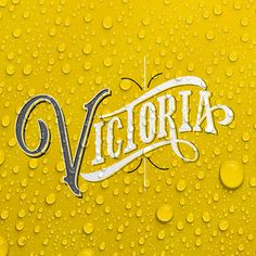 Illustration | Typography | Victoria