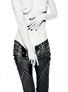Jan Welter / Photographer . Topless + Jeans