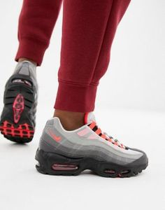 60551ad37fb543 Nike Black And Grey Ombre Air Max 95 Og Trainers