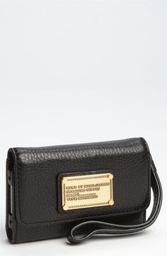 e794e59114f7 Marc Jacobs iphone wallet wristlet! They sell these at Nordys.. They are  awesome