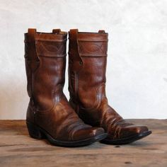 8bec9c48d17 vintage 70 s Wrangler motorcycle boots  guystyle  hippie  guy  style