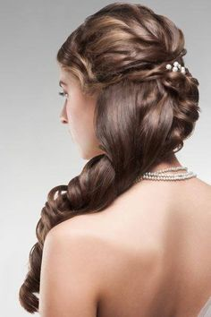 Bridal hair style for long hair