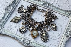 I love this and think I can recreate with keepsakes from my mom and grandma.