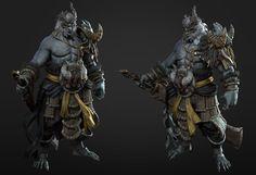 ArtStation - warrior, Y Lee