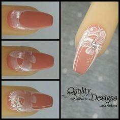 Markova, Nail Tutorials, Nail Arts, Pretty Cool, Art Studios, Beauty Nails, Projects To Try, Tattoos, Tutorial Nails