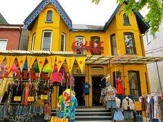 Kensington Market Toronto Travel, Ontario, Travel Guide, Places, Travel Guide Books, Lugares