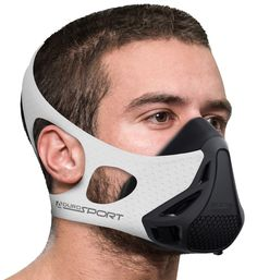 Aduro Sport Workout Training Mask - for Running Biking Training and Fitness, Achieve High Altitude Elevation Effects with 4 Level Air Flow Regulator [Peak Resistance] * Continue to the product at the image link. (This is an affiliate link) Materiel Camping, Cool Masks, Bike Run, Cool Things To Buy, Stuff To Buy, Fashion Face Mask, Tactical Gear, Mask Design, Outdoor Gear