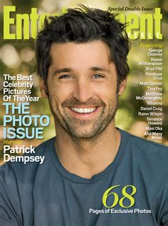 Patrick Dempsey - he's come a long way from his early 'geeky' days.  Very handsome young man now.
