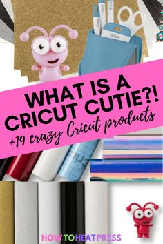 Cricut cuties aren't the only fun Cricut product you might not know about! Check out other surprise products to up your crafting game!