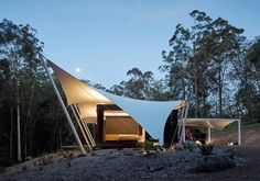 tent house, Spark Architects, Australia, indoor/outdoor living