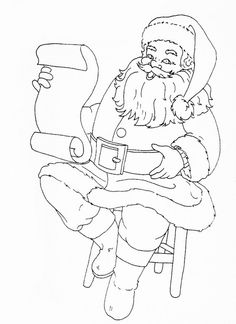 santa with list | Flickr - Photo Sharing!