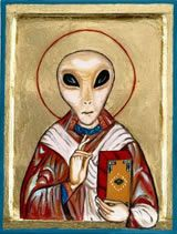 Aliens in religion - they have always been here. Aliens UFO Extraterrestrial AlienAncient Aliens ET Seti E. Ancient Aliens, Aliens And Ufos, Grey Alien, Space Aliens, Into The Fire, Live Stream, Mystique, Funny Bunnies, Adam And Eve
