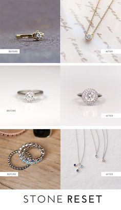 Restyle your jewelry into a setting you'll love. Make new memories for your jewelry box with Stone Reset!