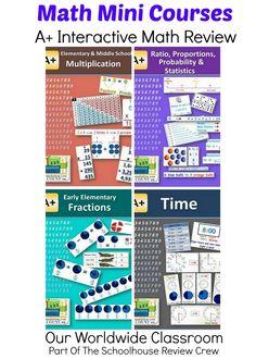 Math Mini Courses ~ Review