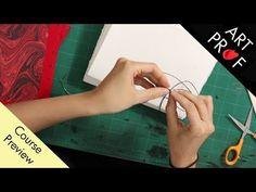 Coptic Bookbinding: Preview / ART PROF - YouTube Books Art, Bookbinding Tutorial, Critique, Teaching Art, Art Techniques, Art Education, Art Tutorials, Lesson Plans, Platform