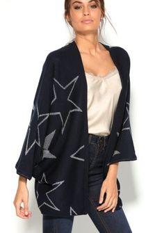 Kardigan s netopierími rukávmi December, Kimono Top, Women, Fashion, Moda, Fashion Styles, Fashion Illustrations, Woman