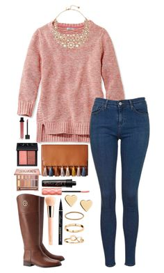 """RTD for my next week"" by lbkatie17 on Polyvore featuring L.L.Bean, Topshop, Tory Burch, Kate Spade, Rebecca Minkoff, Urban Decay, NARS Cosmetics, Jouer, Benefit and Guerlain"