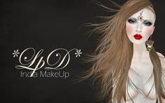 *India* MakeUp by . Nevery Lorakeet *LpD* ., via Flickr
