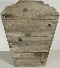 Wood Jewelry Display, Rustic Aged Wood, Natural